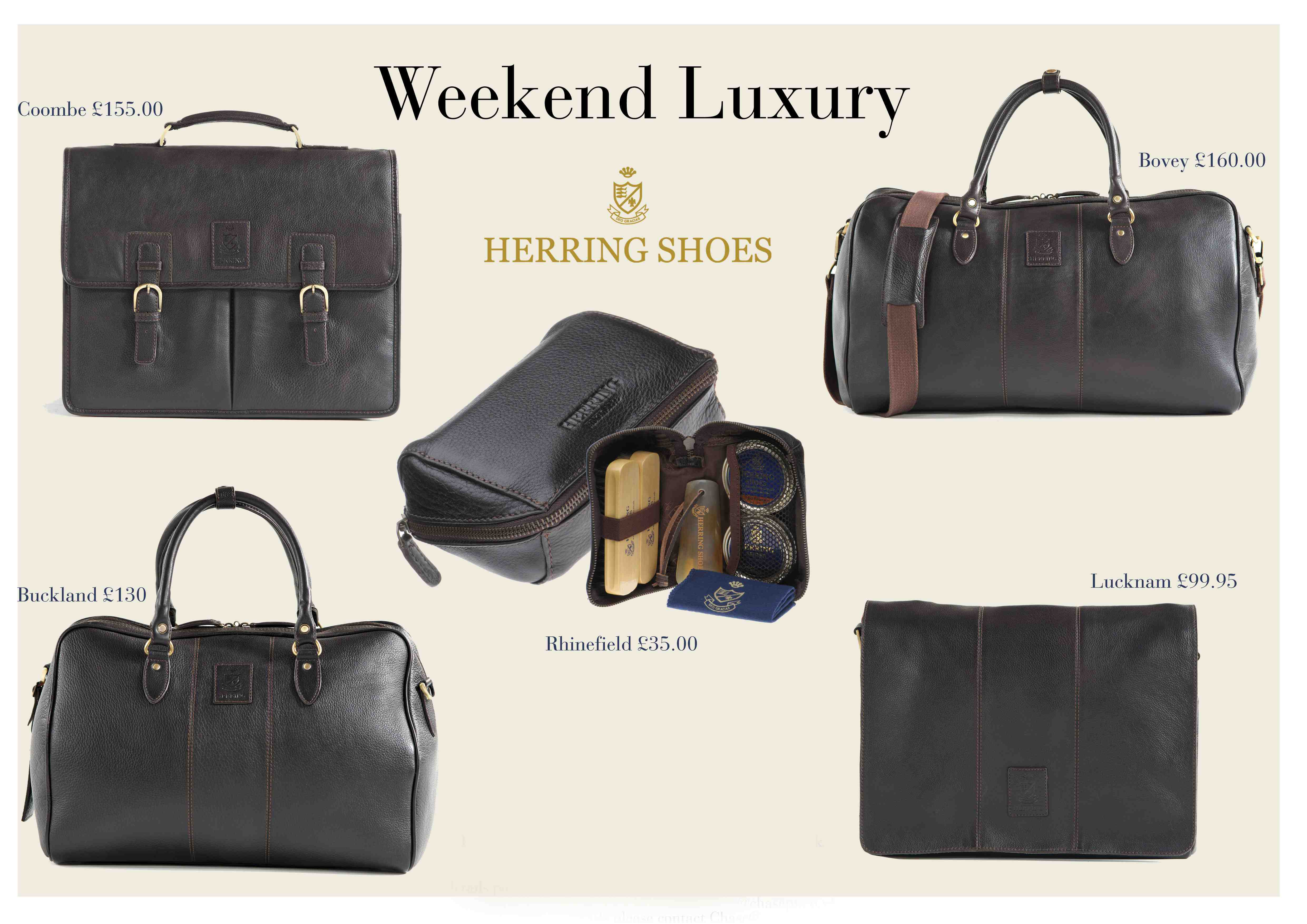 Herring Shoes Launches New Leather Bag Range Maketh The
