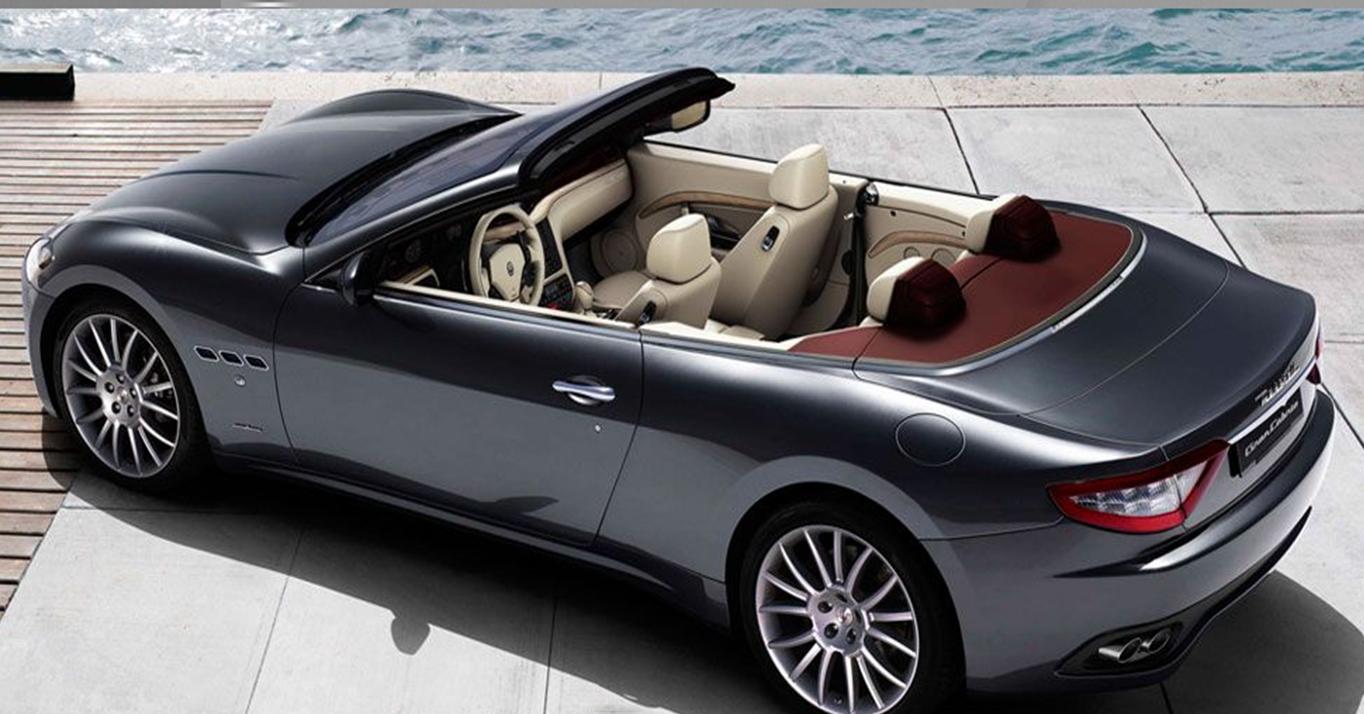 Maserati GranCabrio car