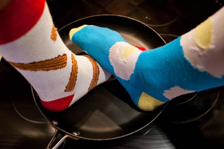 Foot Cardigan socks 3