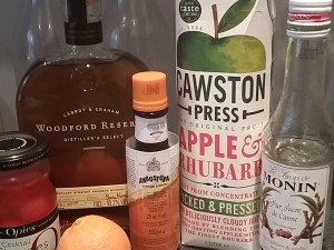Woodford Reserve Old Fashioned ingredients