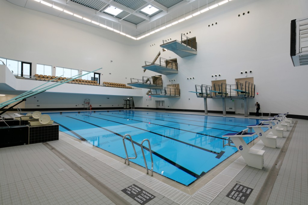 The new aberdeen sports village and aquatic centre - Aberdeen university swimming pool ...