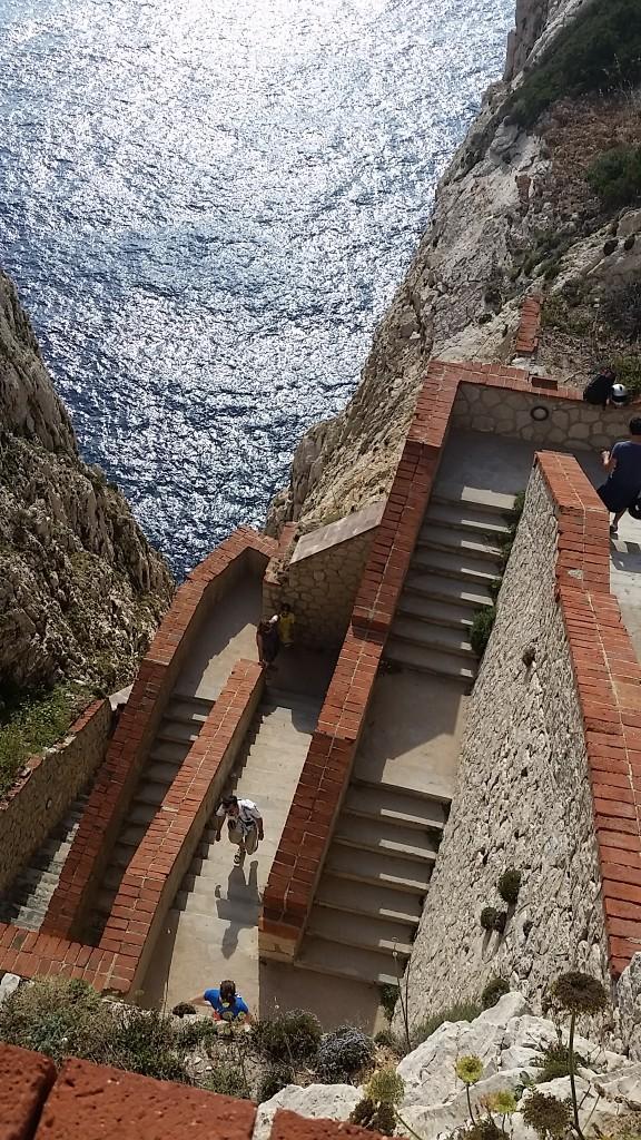 Neptune's Grotto stairs (Grotta di Nettuno), Alghero
