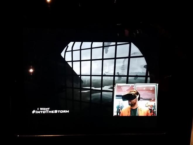 Into the storm movie premier
