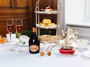 Ruinart Rose 250 Year Anniversary Afternoon Tea at Browns