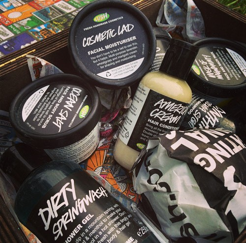 Lush kitchen products