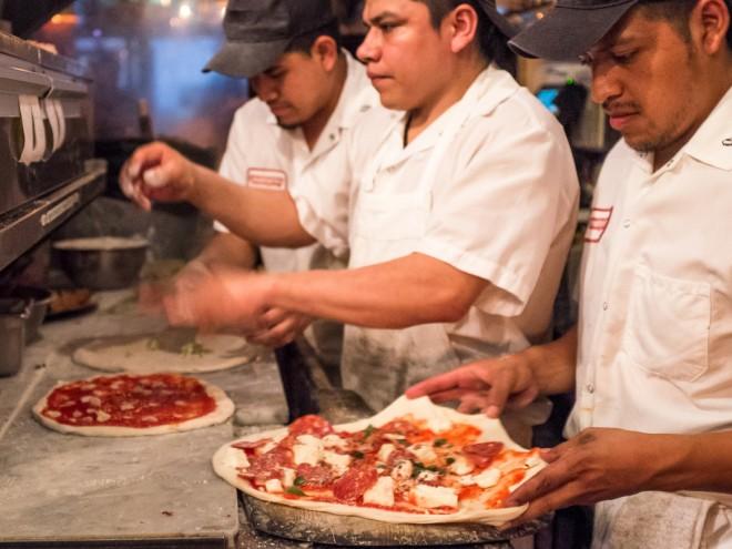 Motorino pizza New York