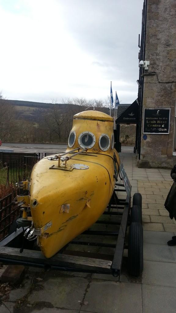 Loch Ness Yellow Submarine