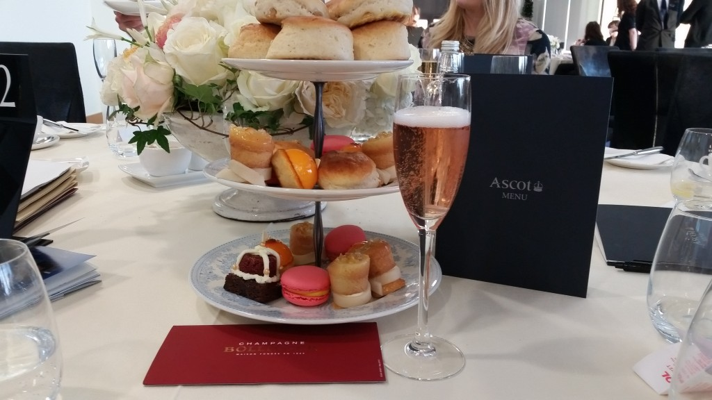Ascot Afternoon Tea and Bollinger