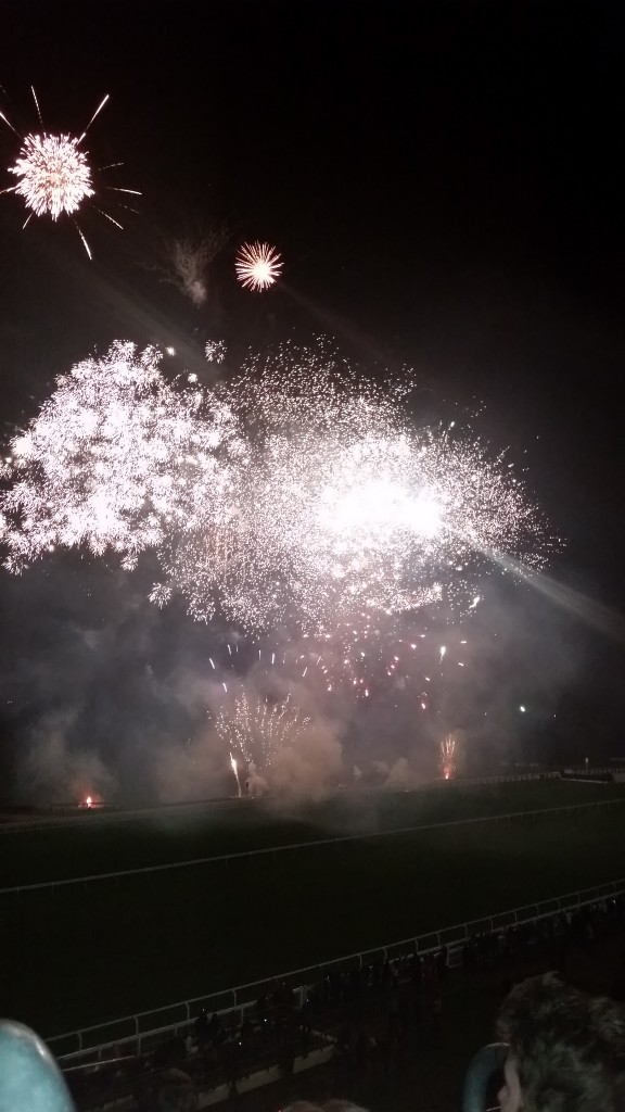 Ascot fireworks display