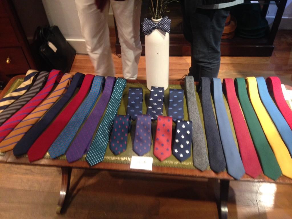 Monsieur London ties