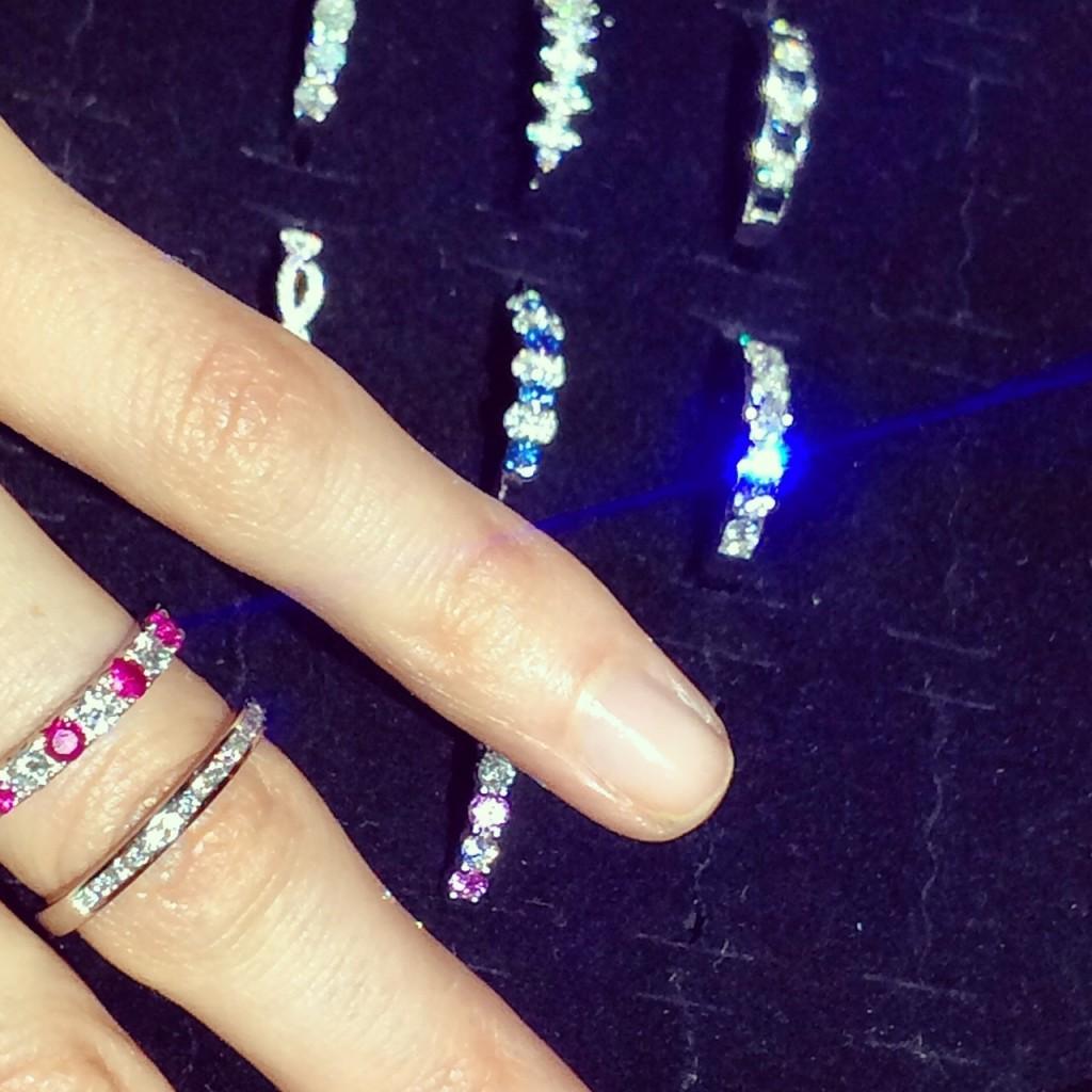 Vashi diamond rings