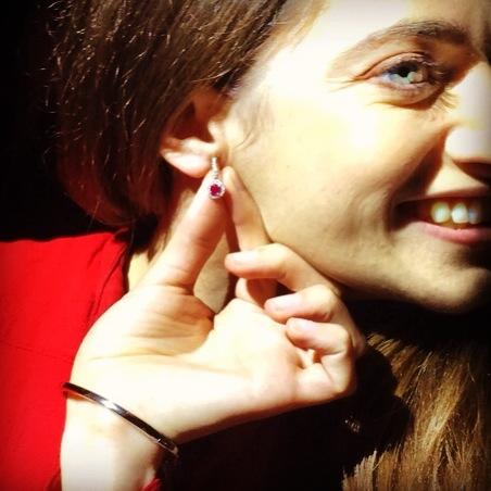 Vashi Diamond ear ring