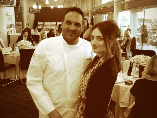 Michael Caines and Anabel Kutay