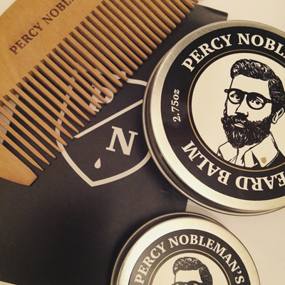 Beard grooming routine with Percy Nobleman - Maketh-The-Man
