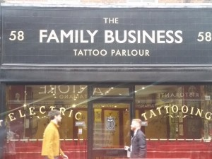 Family Business tattoo parlour