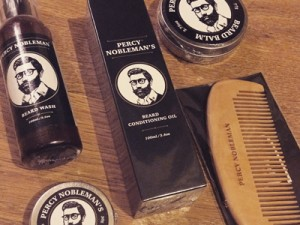 Percy Nobleman beard grooming product