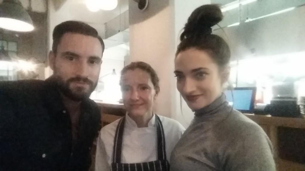 Elena Reygadas, Callum Watt and Anabel Kutay