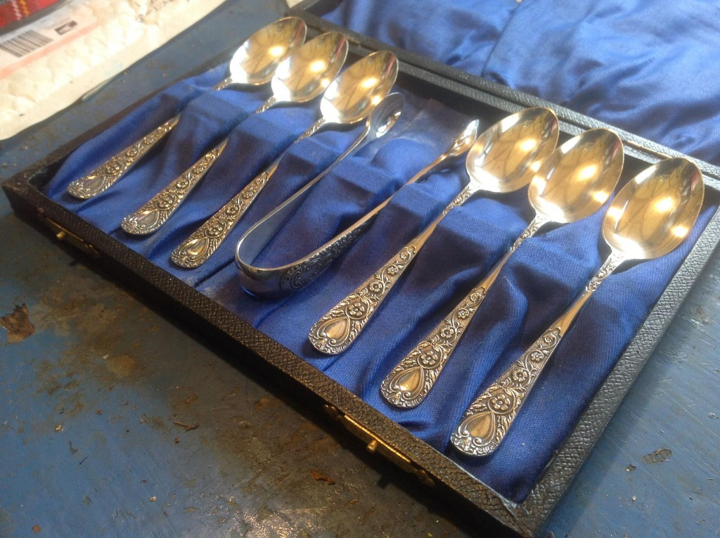 Recycled jewellery spoons