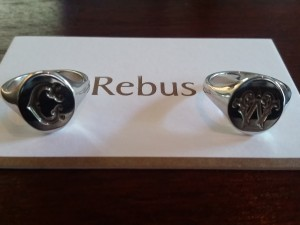 Rebus initial rings