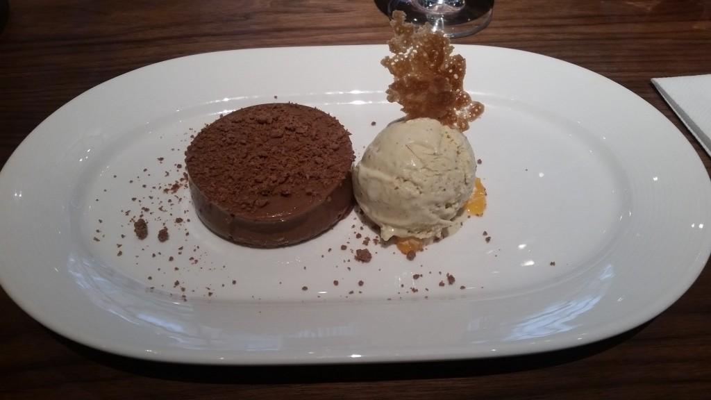 Blixen chocolate dessert