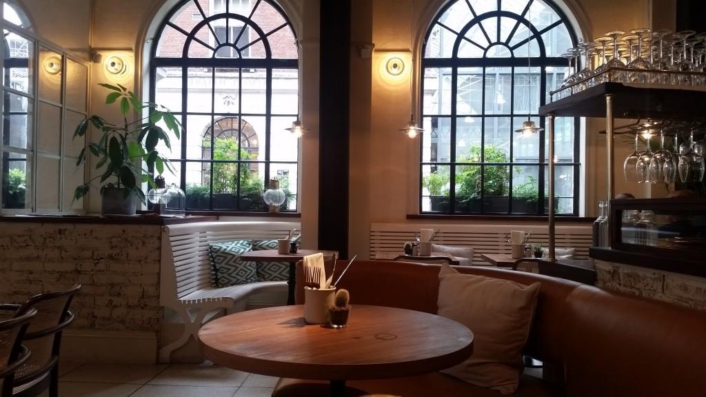 Blixen Shoreditch restaurant