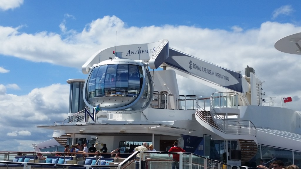 Anthem of the Seas the north star