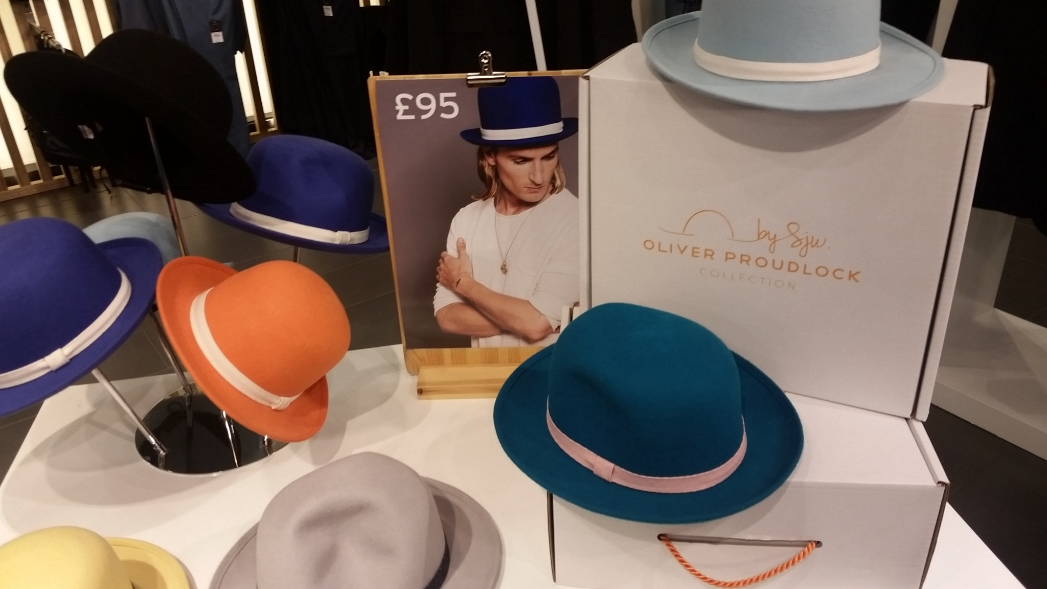 BySju x Oliver Proudlock Bowler Hat Collection BySju x Oliver Proudlock Bowler Hat Collection new pics