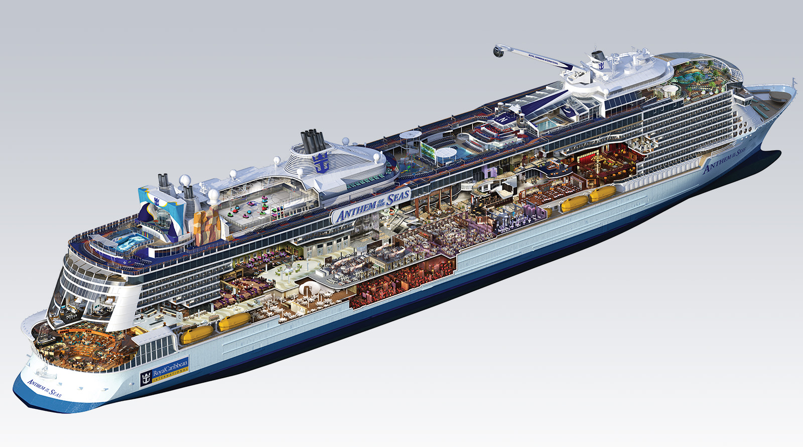 Anthem Of The Seas With Royal Caribbean International Maketh The