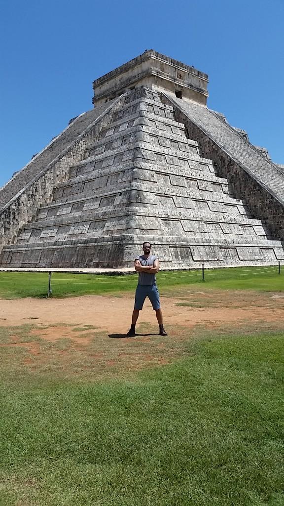 Callum Watt Maketh The Man Mexico chichen itza temple