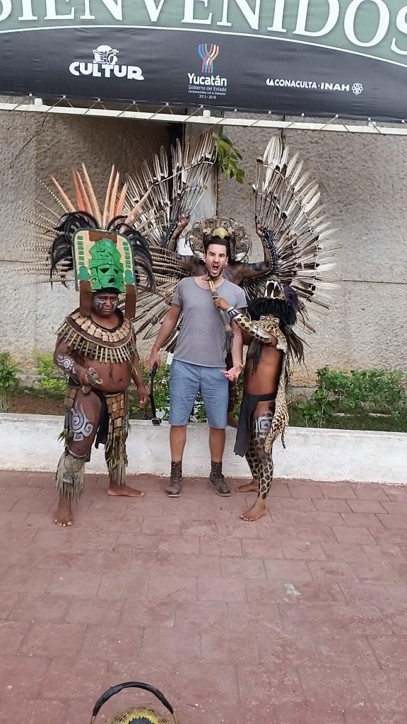 Callum Watt Maketh The Man Mexico chichen itza locals