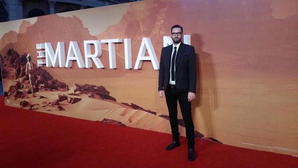 The Martian Movie Premier Callum Watt