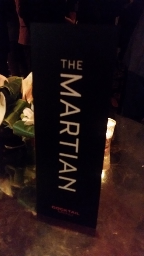 The Martian Movie Premier Callum Watt after party
