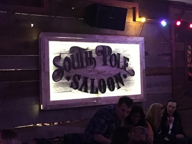 Maketh-The-Man-South Pole Saloon-Sign