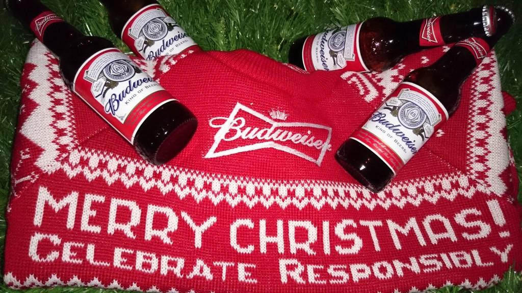 Maketh-The-Man-Budweiser-Bud-Wise - Christmas-Jumper