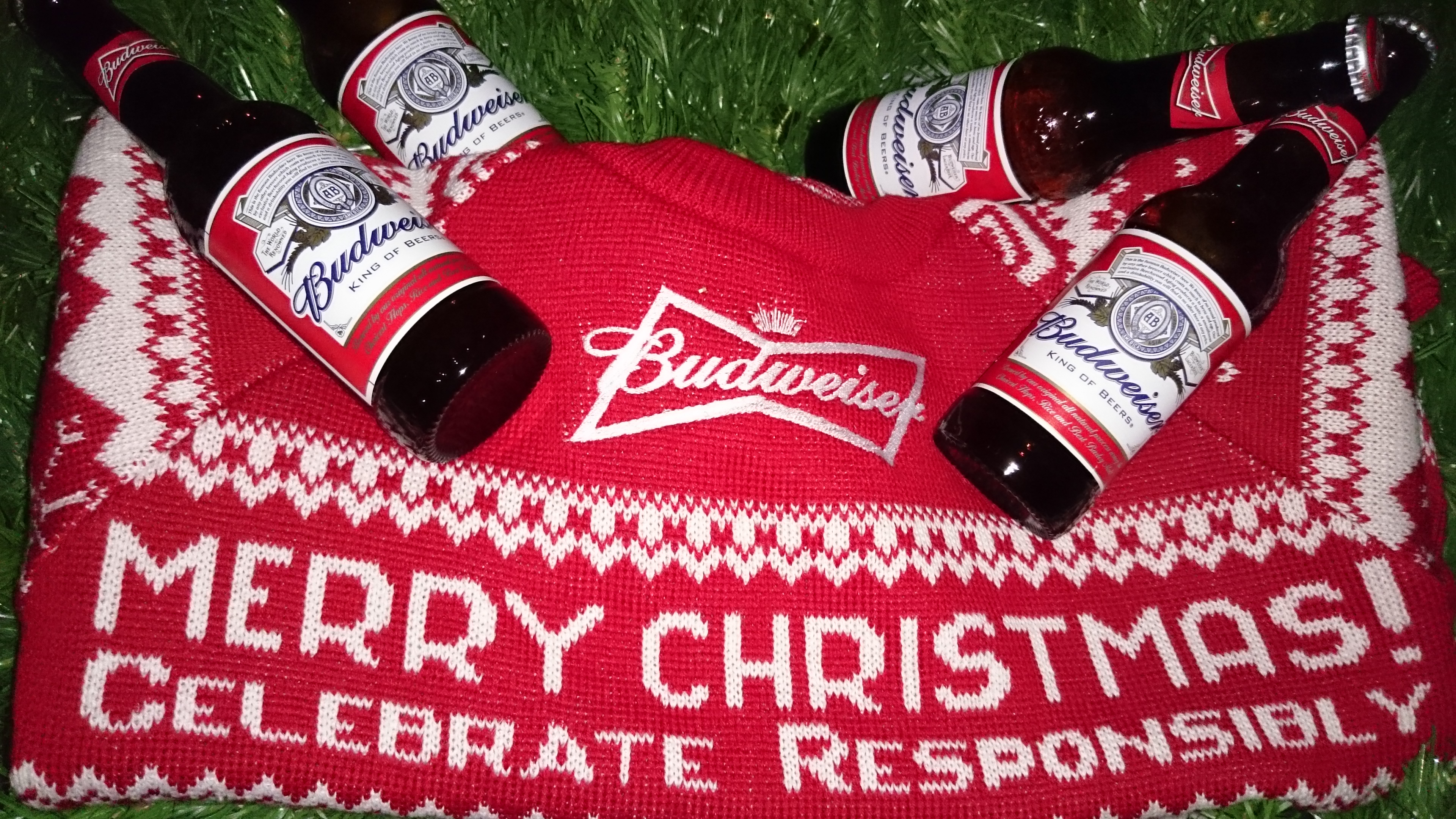 Budweiser Christmas Calls For Budwisemen Maketh The Man