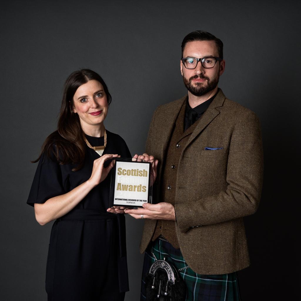 Callum Watt Scottish Fashion Awards