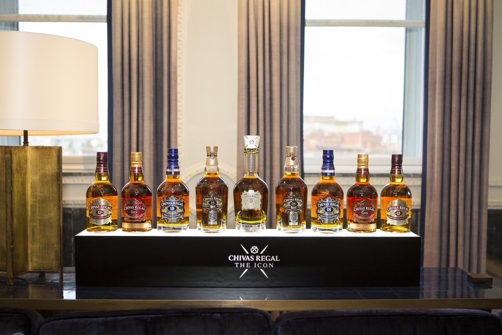 Chivas The Icon launch at The Connaught London on 16th February 2016.