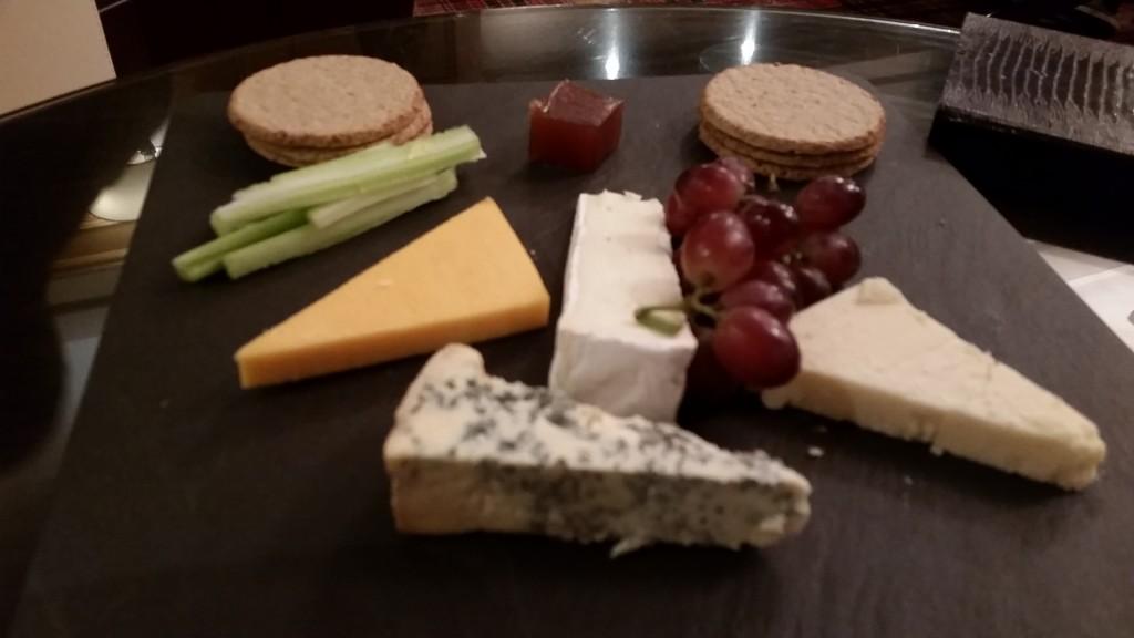 Cheese board Kingsmills Hotel