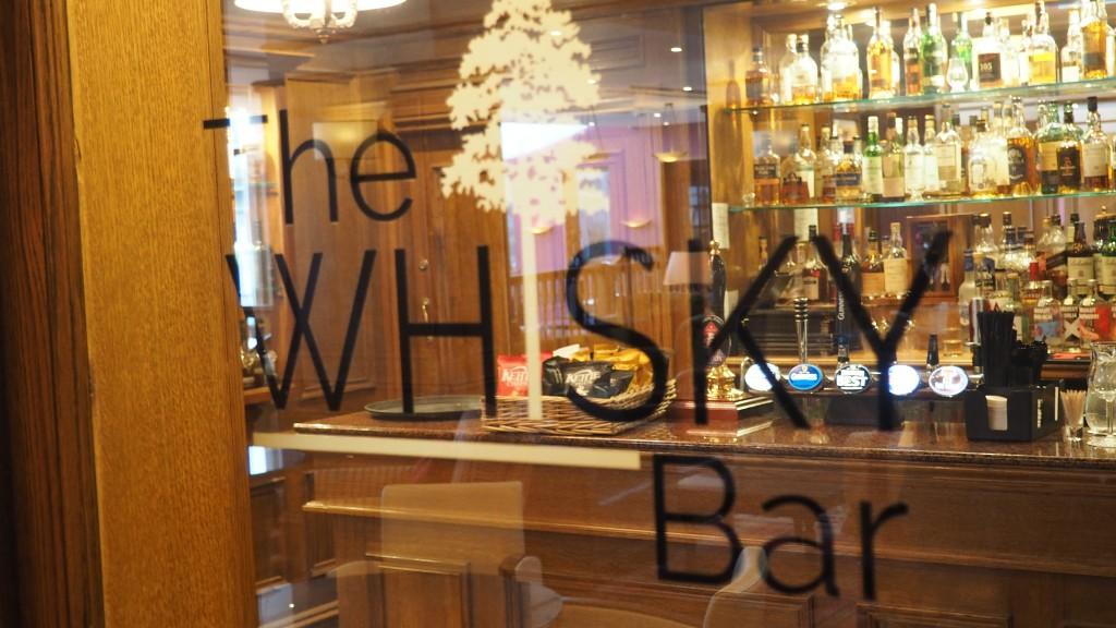 Kingsmills Hotel whisky bar Inverness