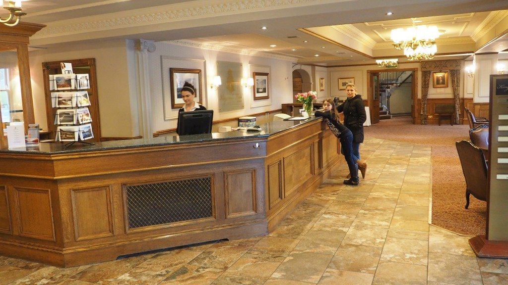 Kingsmills Hotel reception Inverness