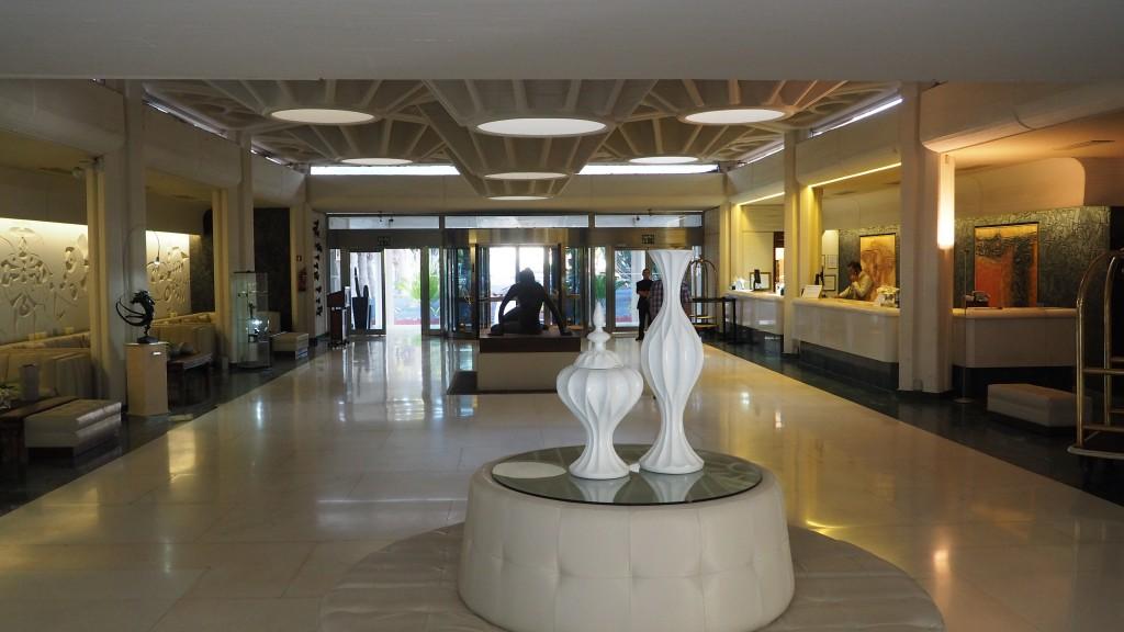 Hotel Meliá Salinas reception Lanzarote