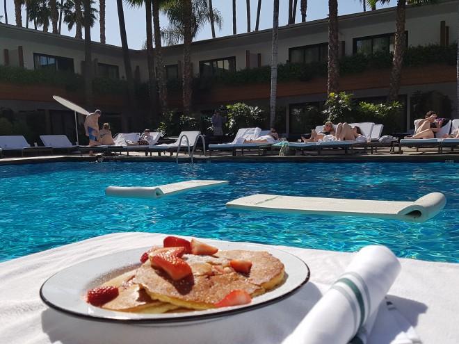 Hollywood Roosevelt Hotel breakfast