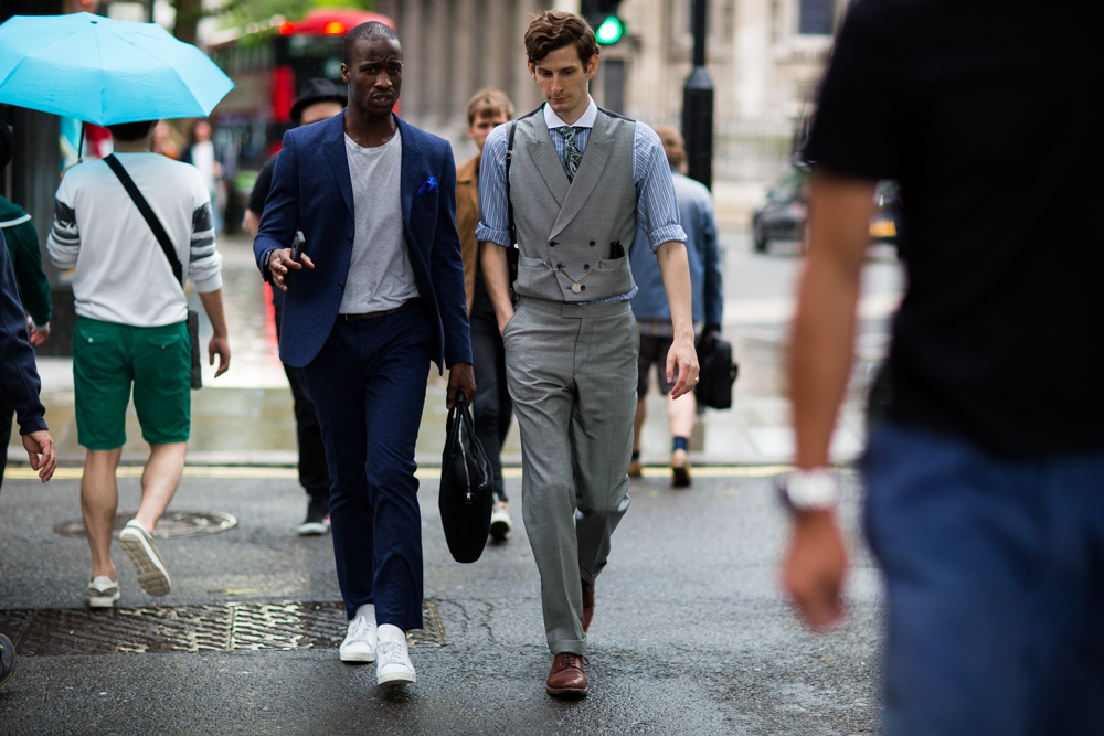 Featured by Mensfashionpost heading to Turnball & Asser