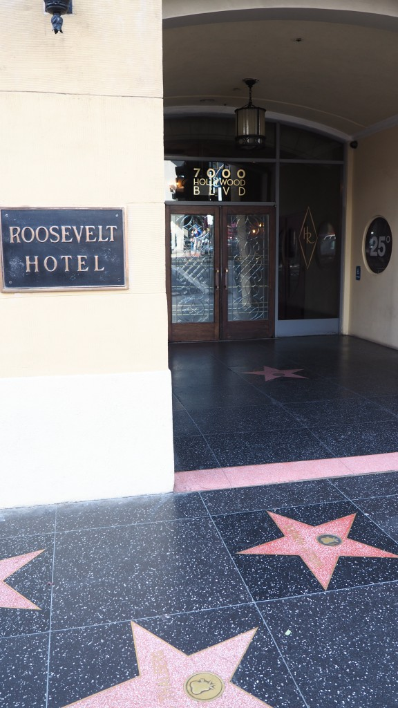 Hollywood Roosevelt Hotel walk of fame