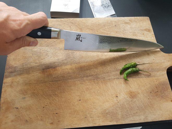 Yaxell Japanese knive board