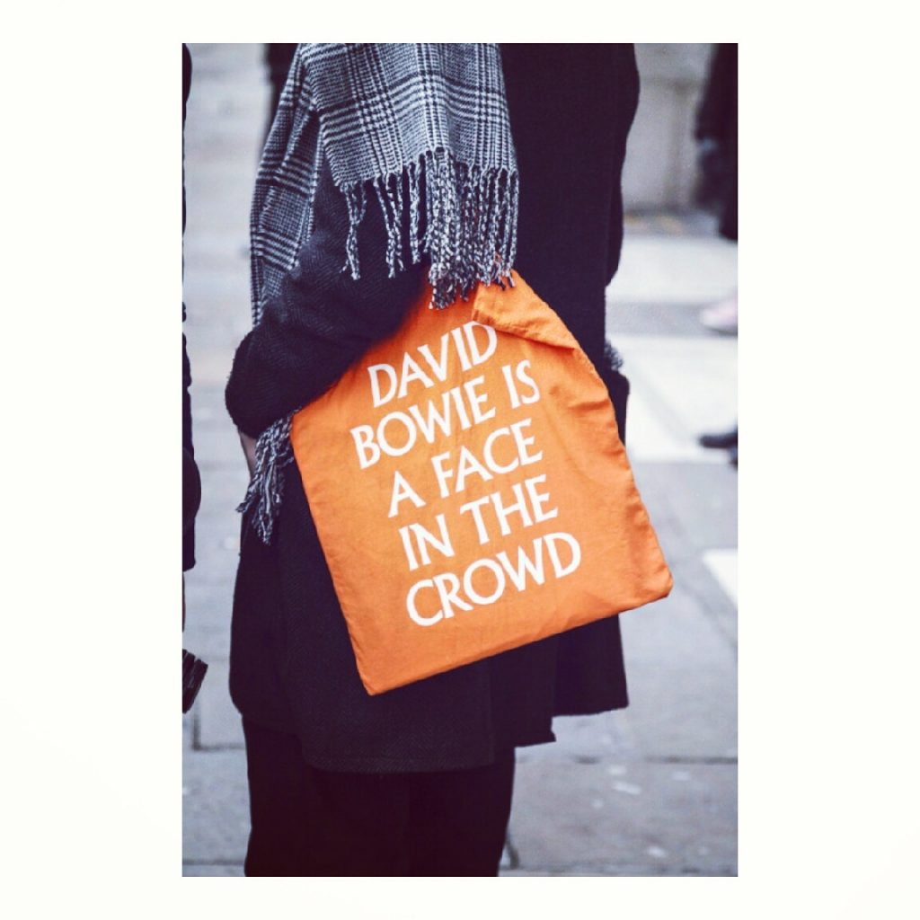 David Bowie bag