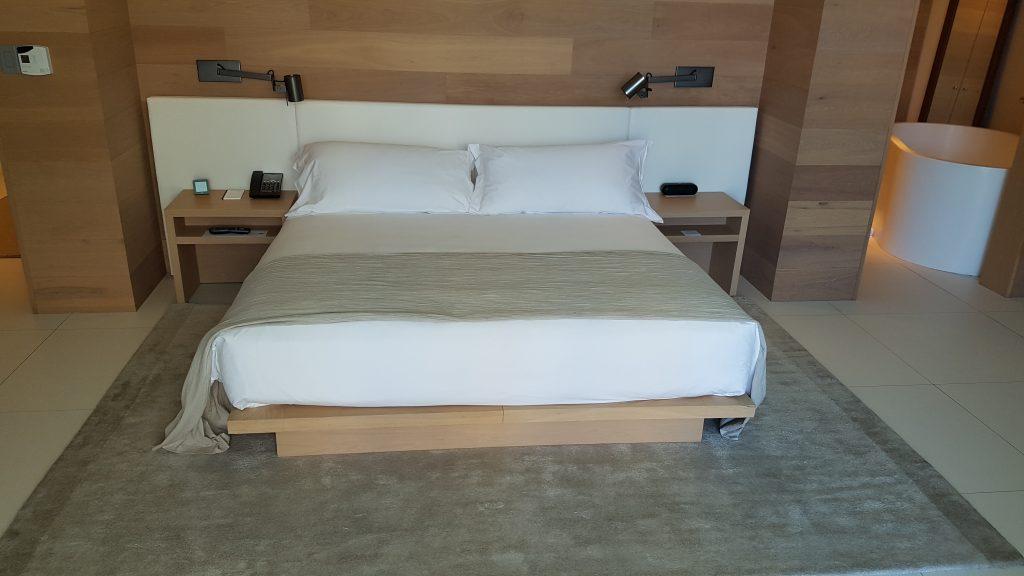 Miami Beach Edition Hotel bedroom