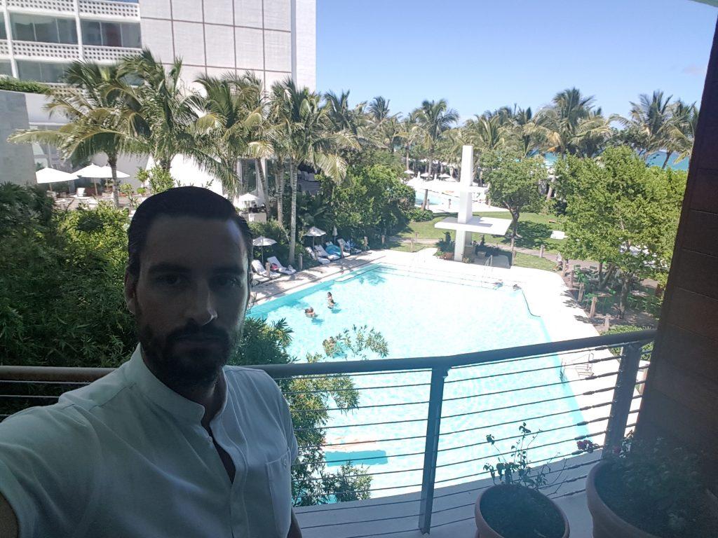 Miami Beach Edition Hotel pool view