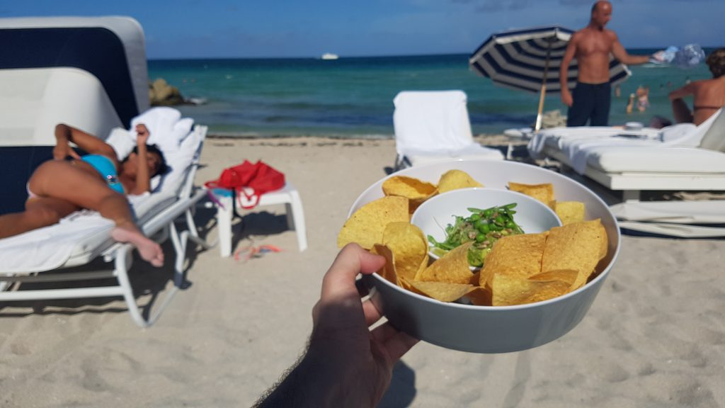 Miami Beach Edition Hotel nachos