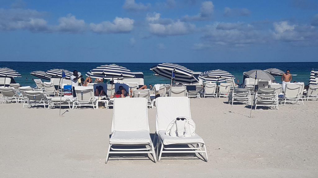 Miami Beach Edition Hotel beach